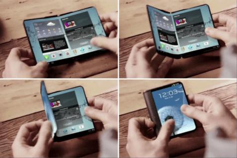 El smartphone plegable de Samsung estará en el MWC17 aunque sólo lo verán unos pocos elegidos