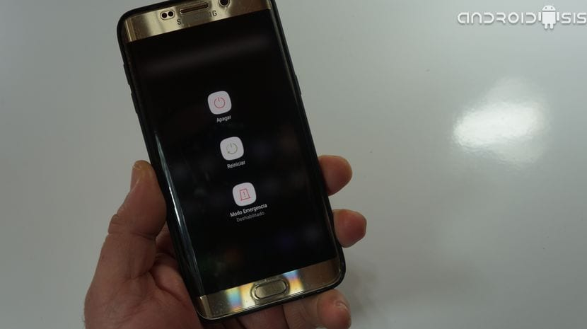menú apagado Samsung