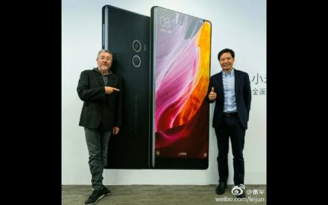 Se confirma, el Xiaomi Mi Mix 2 contará con biseles todavía más pequeños