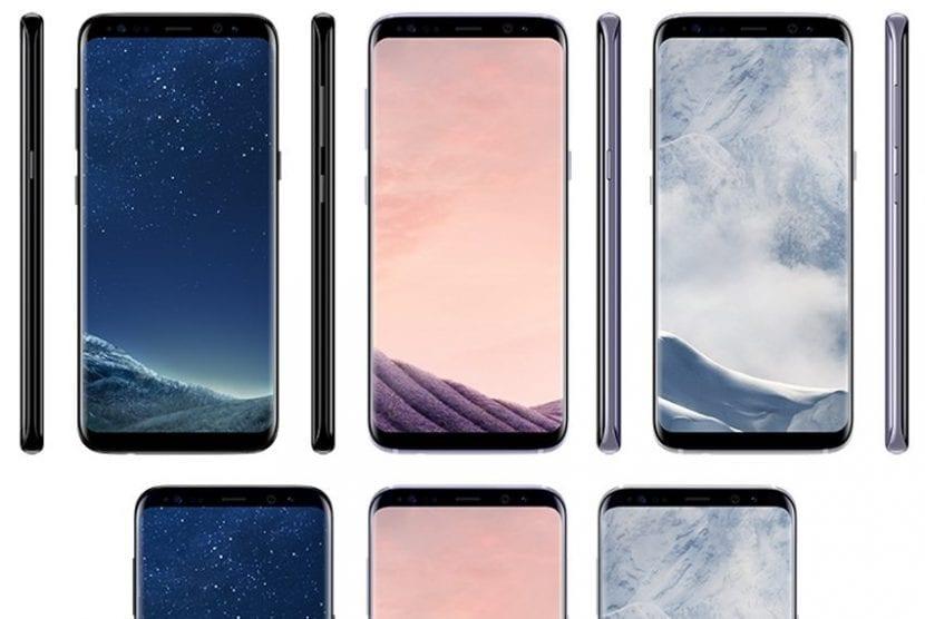 Colores del Galaxy S8 y S8 Plus