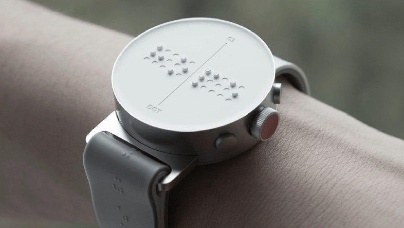 Dot el reloj braile