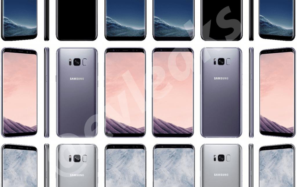 Descargar fondos de escritorio del Samsung Galaxy S8