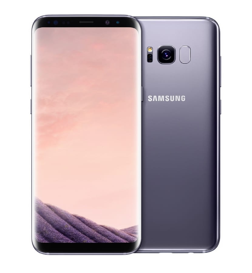 Galaxy S8 frontal