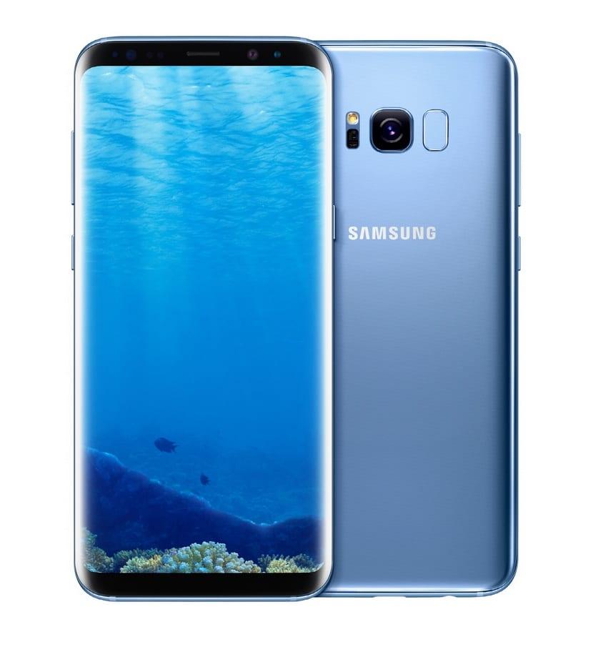 Galaxy S8 por delante