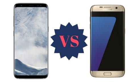 Galaxy S8 Plus vs Galaxy S7 Edge