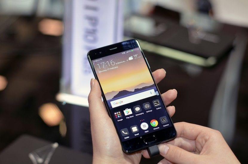 Huawei P10 Plus frontal