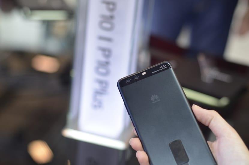 Cámara Huawei P10 Plus