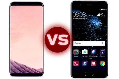 Galaxy S8 vs Huawei P10, las diferencias entre dos de los mejores Android