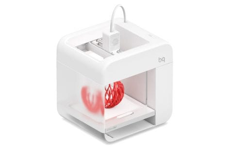 Witbox go es una impresora 3d de la marca española BQ