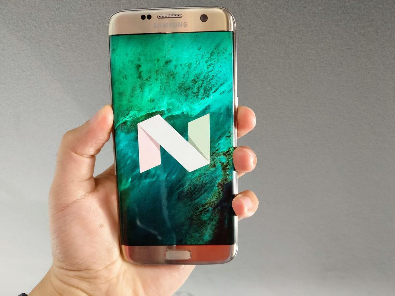 actualización Android 7 para los Samsung Galaxy S7