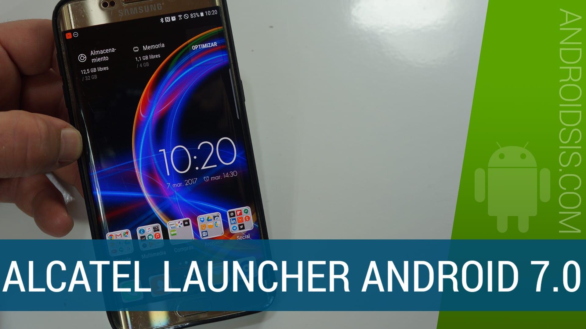 [APK] Descarga ya la nueva versión del Launcher de Alcatel para cualquier Android
