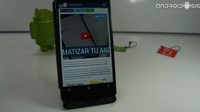 navegador de Internet de Samsung en cualquier Android