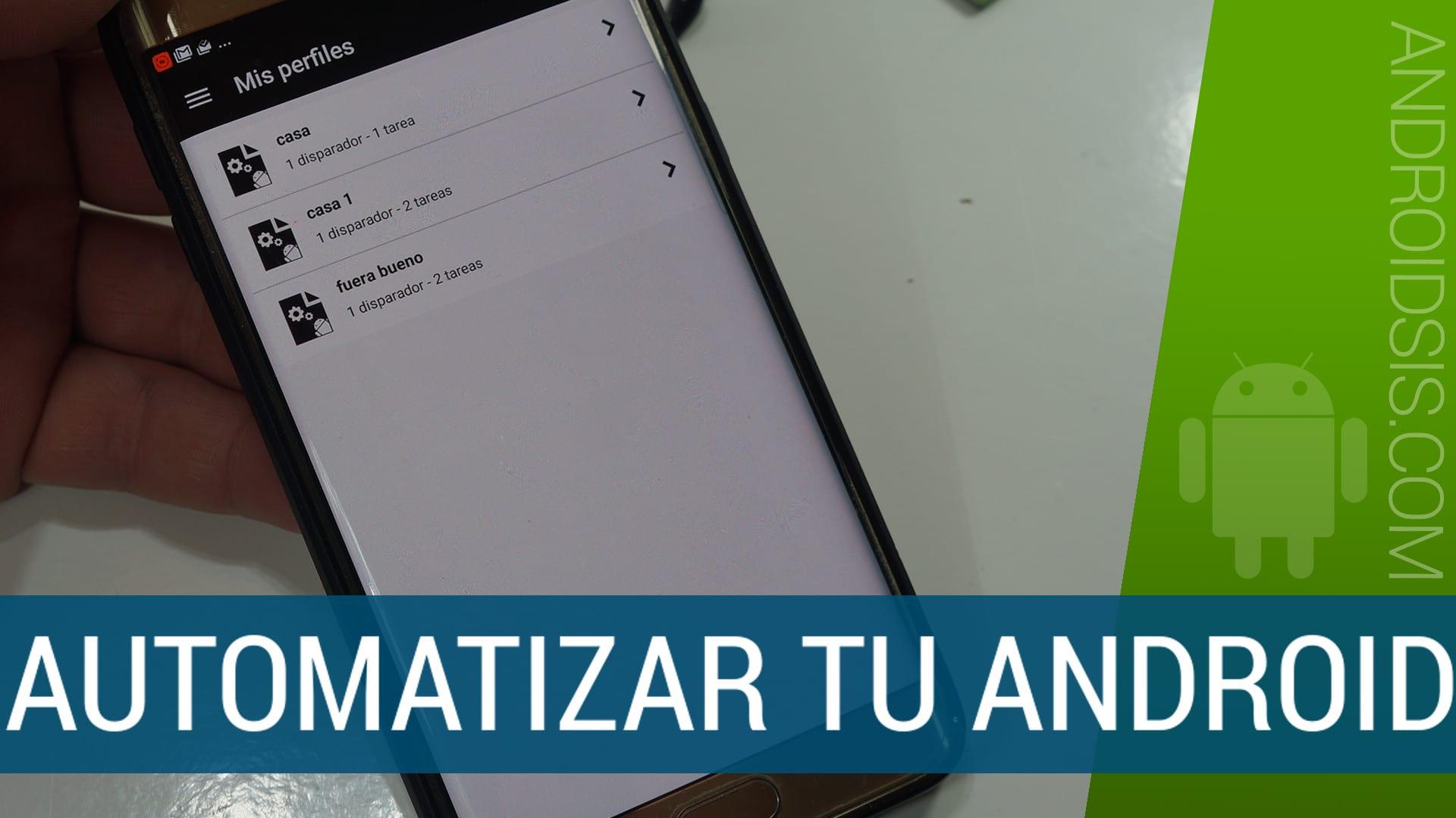 Automatizar Android fácil