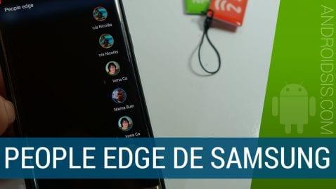 la barra lateral del S7 Edge en cualquier Android.¡Idéntica!
