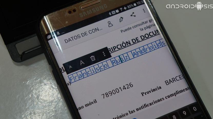 Cómo añadir firma digital a documentos desde tu Android. (Y rellenarlos)