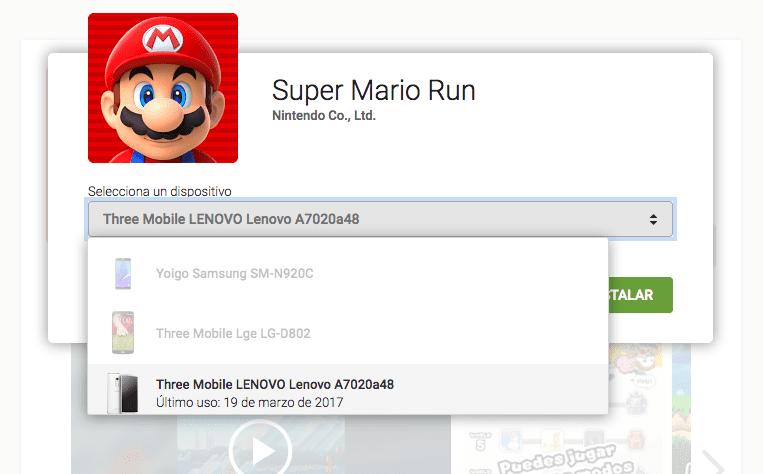 [APK] Ya puedes descargar e instalar Super Mario Run para Android desde el Play Store de Google