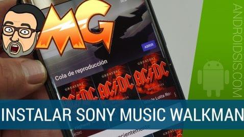 [APK][ROOT] Cómo instalar la aplicación de música del Sony Xperia XZ Premium en cualquier Android (última versión)