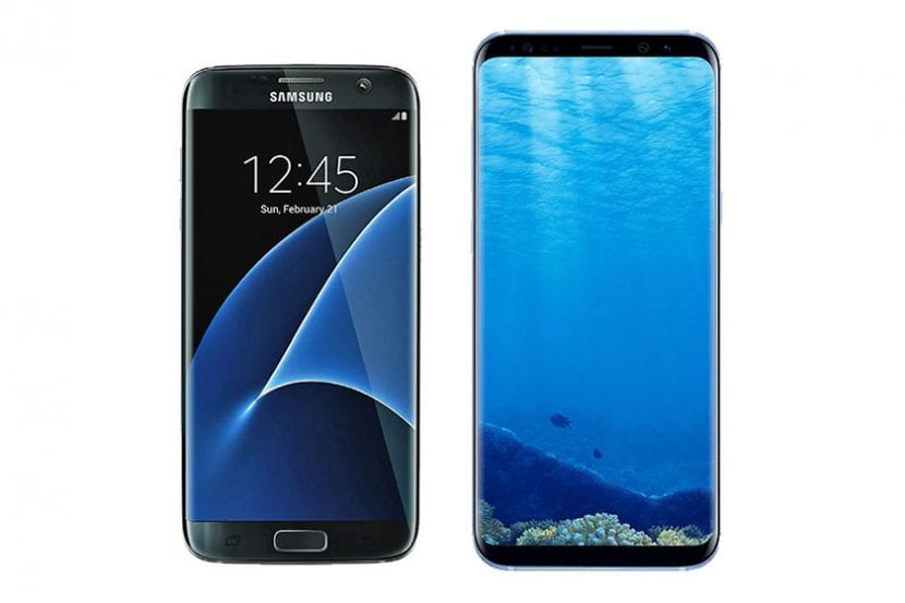 Galaxy S7 Edge vs Galaxy S8 Plus