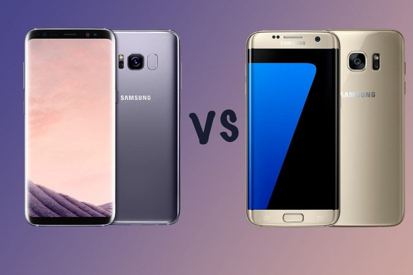 Galaxy S8 vs Galaxy S7 Edge