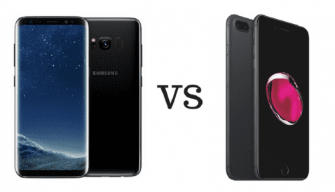 Galaxy S8 vs iPhone 7 Plus