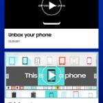 Samsung Unpacked 2017 - Captura de pantalla