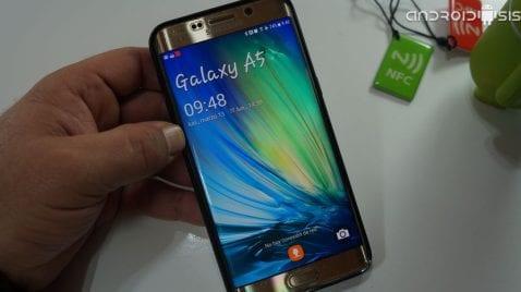 Pantalla bloqueo Samsung Galaxy A5