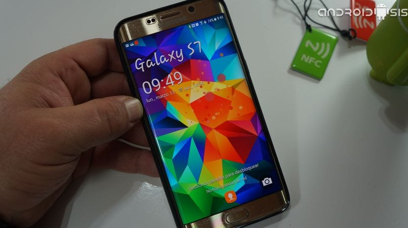Pantalla bloqueo Samsung Galaxy S5