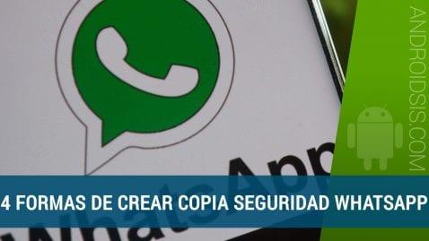3 Formas de realizar la copia de seguridad de WhatsApp de manera externa