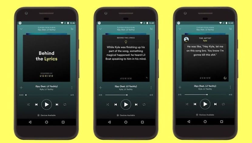"Spotify agrega la sección ""Behind The Lyrics"" en su app para Android"