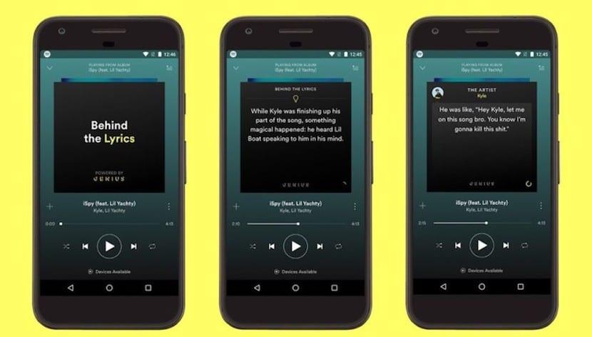 """Spotify agrega la sección """"Behind The Lyrics"""" en su app para Android"""