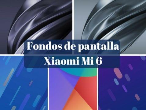 Fondos de pantalla del Xiaomi Mi 6