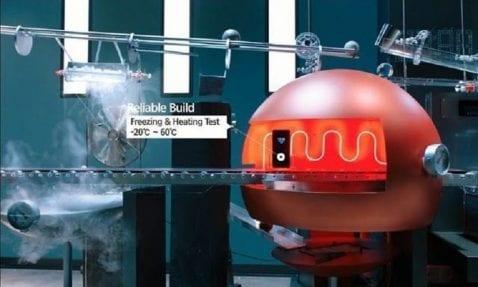 LG G6 prueba de resistencia