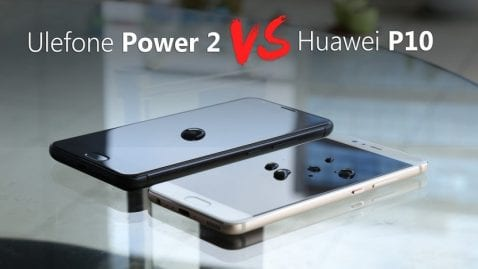 ULEFONE Power 2 vs Huawei P10