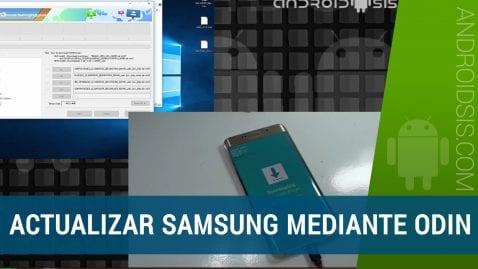Actualizar Samsung Glaxy S6 Edge Plus Android Nougat oficial vía Odin