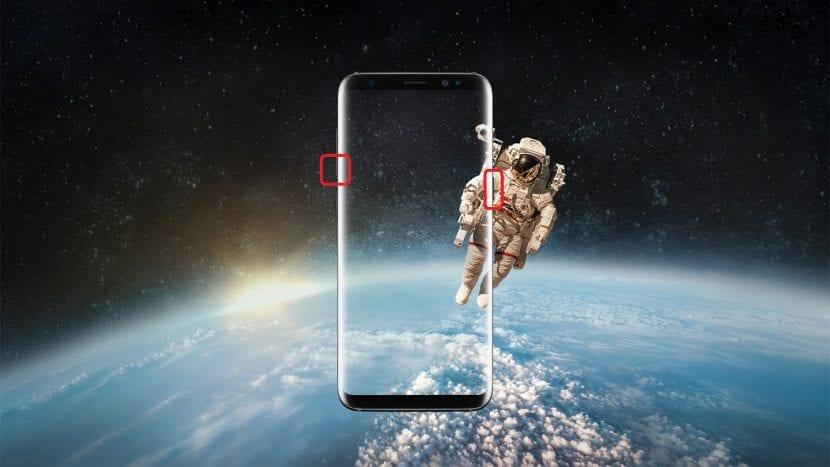 Cómo hacer capturas de pantalla en el Galaxy S8