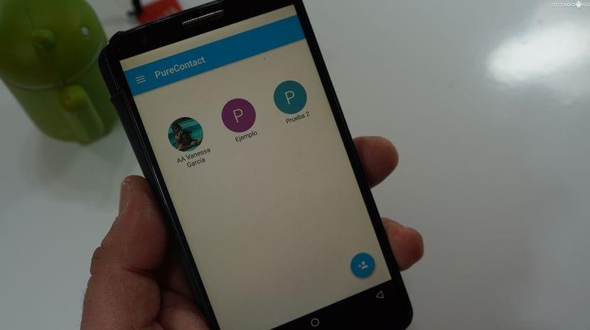 Simplemente Pure Contact, la aplicación para asignar acciones por gestos a nuestros contactos favoritos