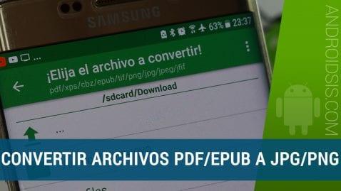 Cómo convertir PDF a JPG o PNG fácilmente