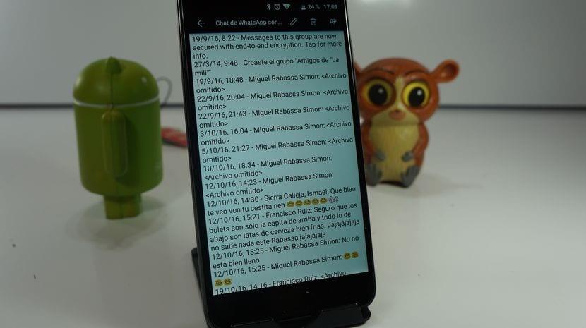 Cómo realizar copia de seguridad de los chats de WhatsApp a un archivo de texto