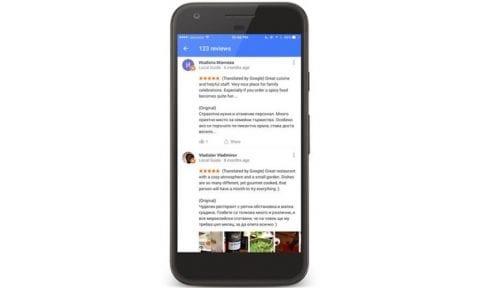 Google ofrecerá las opiniones traducidas de restaurantes y puntos de interés