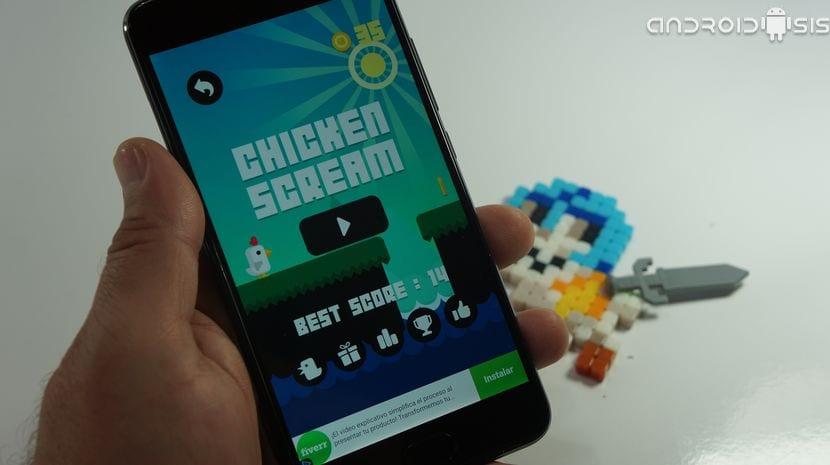 Chicken Scream, el juego del pollito que se controla con tu voz y que lo está petando en Android