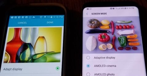 Consumer Reports señala que pantalla rojiza del Galaxy S8 no es un gran problema