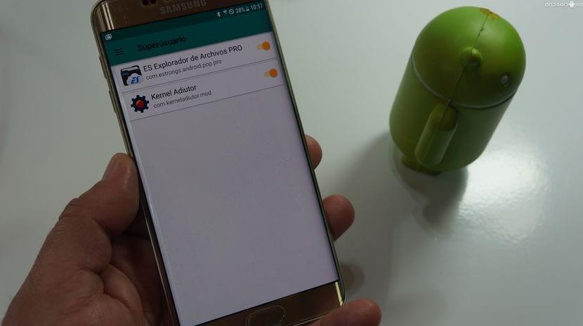 Root y Recovery para el Samsung Galaxy S6 Edge Plus en Android Nougat oficial