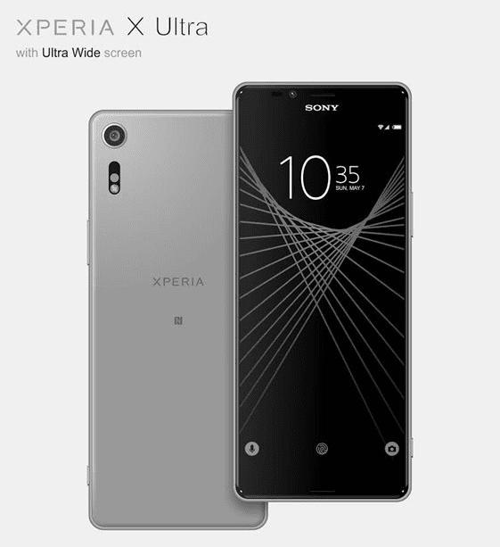 Render del Sony Xperia X Ultra