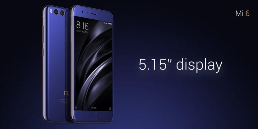 Pantalla del Xiaomi Mi 6