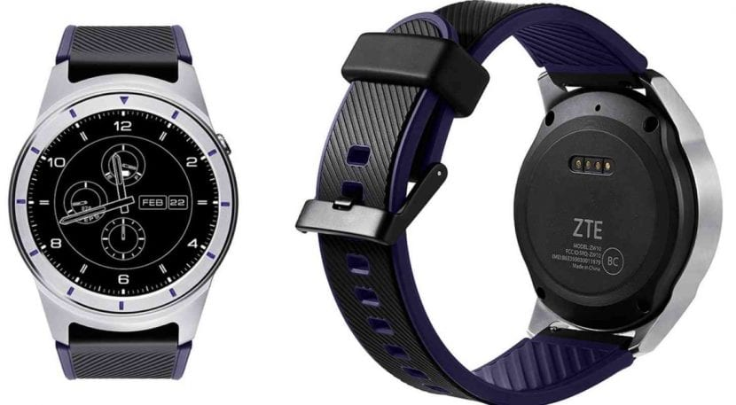 ZTE Quartz con Android Wear 2.0
