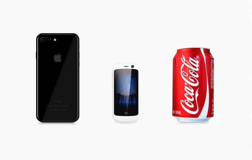 Jelly, el móvil 4G más pequeño del mundo con Android 7.0 Nougat