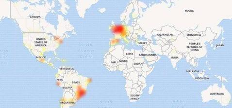 WhatsApp caído por un grave y misterioso fallo del que no se comenta nada