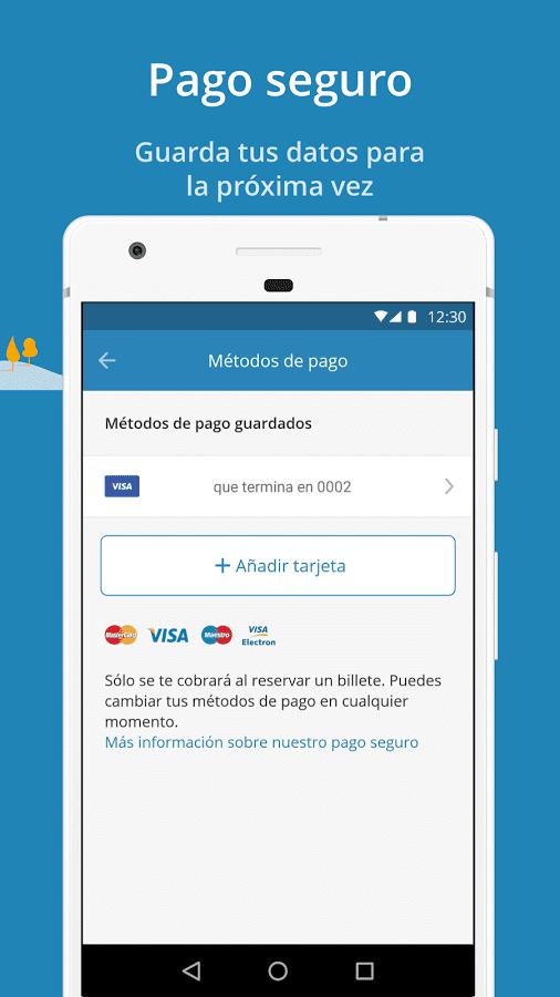 todos los billetes disponibles con ofertas y descuentos exclusivos filtra segn tus y podrs pagar de forma segura sin salir de la app