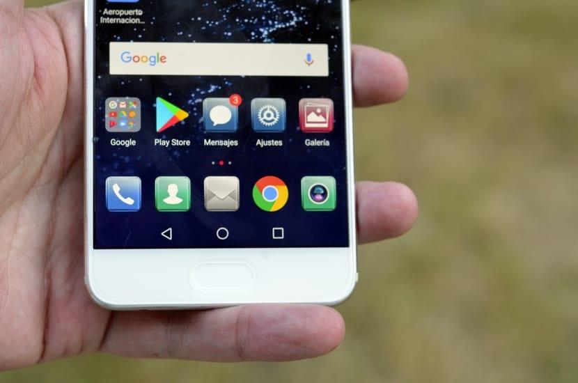 Huawei P10 Plus lector huellas