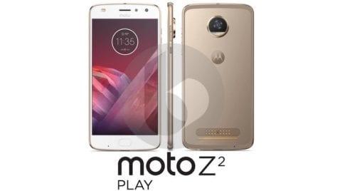 ¡Confirmado! El Moto Z2 PLay contará con una batería de 3.000 mAh